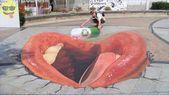 3d Chalk Art Street Painting   – EYE CATCHING! – #art #CATCHING #Chalk #Eye #pai…   – Street Art