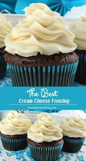 THE BEST CREáM CHEESE FROSTING – Cake, cupcake and cookie decorating