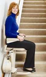 Indy Pinnacle Stair Lifts: Narrow Stairlifts, Small Stair Lift