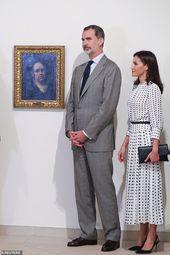 König Felipe und Königin Letizia von Spanien besuchen die historische Festung in Kuba