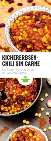 Chile garbanzos   – Vegane Rezepte