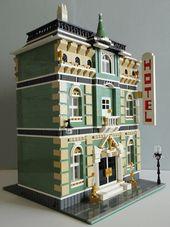 """LEGO Moc Modular """"Golden Cup Grand Hotel"""" 001   – Lego"""