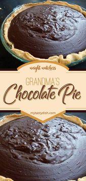 Omas Schokoladenkuchen – Rezepte – #Schokolade #Großmutter #Torte #Rezepte   – Pie Recipes