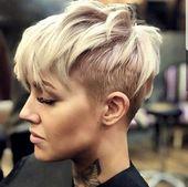 20 Schöne Kurze Frisuren, die Ihr Leben färben | Trend Bob Frisuren 2019 #haare #haarschnitt #frisuren #trendfrisuren #h