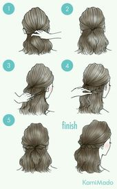lange Haarmodelle – Kapsels voor halflang/lang haar ~Pin via Dromenvangers-Winkeltje~, #dromenvange