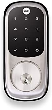 Yale Assure Lock With Z Wave Smart Touchscreen Keypad Deadbolt Works With Ring Alarm Samsung Smartthings Wink Adt A In 2020 Keypad Deadbolt Deadbolt Smartthings