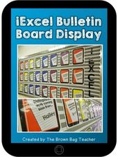 Student Work Display: Editable Bulletin Board
