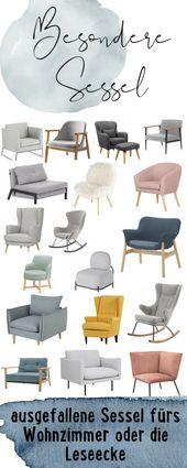 Die schönsten Sessel für dein Wohnzimmer oder deine Leseecke