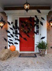 decoración de halloween pinterest