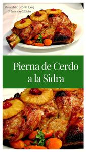 Pierna de cerdo con sidra   – recipes