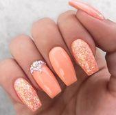 18 erstaunliche Sommer Nail Art Ideen # dailyfeedpins.com #NailArtIdeas #Summer #wome …   – silver nails