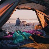 """Camping With Dogs® på Instagram: """"Vi kunde helt och hållet åka till några campingplatser vid Östersjön … #campingwithdogs @dtlsuvi"""""""