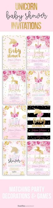 20+ ideas for baby shower girl invites diy invitations – funny baby…