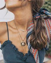 37 Möglichkeiten, um hübsche Haarzusätze zu stylen - Haarspangen, Schal, Anstecknadel, wie man Haarspangen 2019 trägt, ...