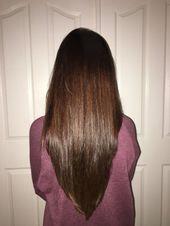 Nofilterneeded Caramel Chocolate Brown Haarfärbemittel & V-Cut Haarschnitt …, #Brown #Caramel #Choc …
