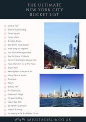 Things I Want To Do Next Time I'm In New York