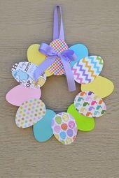 Basteln zu Ostern mit Kindern – Wundervolle Ideen für kreative Osterdeko
