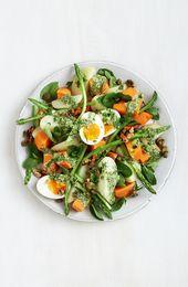 Healthier potato salad with herb dressing – Food