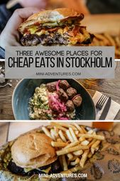 Balls & Burgers: three Tremendous Tasty Locations For Low cost Eats in Stockholm