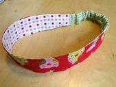 Sewing hair band: pattern and tutorial – pea princess blog