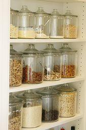 10 formas creativas de organizar tu hogar con frascos