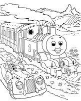 Gambar Kereta Api Thomas Hitam Putih Gambar Kereta Thomas Hitam Putih