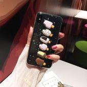 3D Summer Ice Cream Phone Hülle Für iPhone Clear Cover