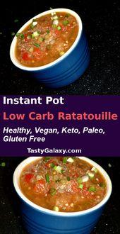 Low Carb Instant Pot Ratatouille