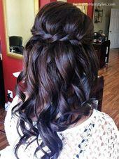 20 mittlere lockige Frisuren für jeden Anlass #HairColors
