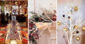 17 Originales ideas para decorar tu casa con ramas secas esta Navidad – manualidades navideñas