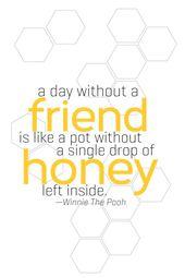 Make Raspberry Honey and Free Winnie-The-Pooh-Impressed Neighbor Reward Printables
