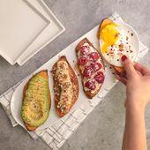 Sweet Potato Toast 5 Ways