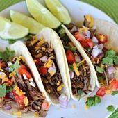 Gluten Free Crock pot Mexican Shredded Beef Taco