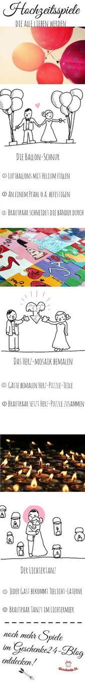 Bröllopsspel som alltid är väl mottagna. Upptäck mycket mer på vår blogg …