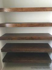 DIY Holzabdeckungen für Drahtregale