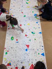 Joan Miró – Oeuvre collective ou le manège à dessins –