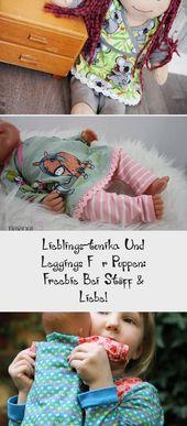 Lieblings-tunika Und Leggings Für Puppen: Freebie Bei Stoff & Liebe!
