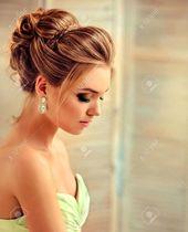 Frisur für Hochzeit – Elegante Brautfrisur mit Locken – New Site