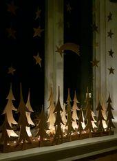 Photo of Weihnachtsdekorationen. In Schweden haben wir gerne viel Licht und Fensterdekor …