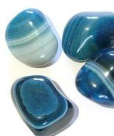 Blue Banded Agate Meaning Banded Agate Is For The Throat Chakra Its Colour Is Light Blue And Promotes Creat Blue Agate Meaning Crystals And Gemstones Crystals
