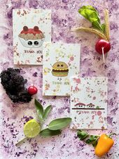 Baby Ilustration Finger Foodie Baby Stationery