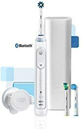 Oral B Genius 5000 Professional Exclusive Electric Toothbrush Starter Kit With Bluetooth Connectivity Review Oral B Brushing Teeth Electric Toothbrush