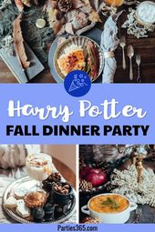 Harry Potter Herbst Dinner Party –   – Party