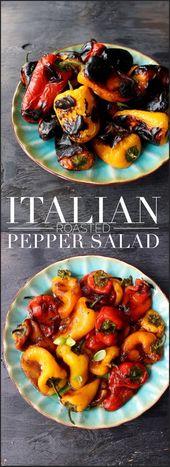 Italienischer gebratener Pfeffersalat   – Food