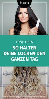 4 Tricks, wie Sie Ihre Locken den ganzen Tag halten können – Frisuren & Styling-Tipps