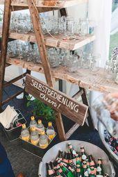 Constanze & Oliver: modern DIY vintage wedding