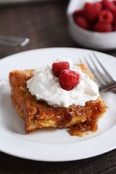 In a single day Creme Brûlée French Toast Bake