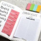 Habit Tracker für mehr Disziplin – Bullet Journal