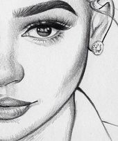 ▷ 1001 + ideas how to draw a girl – tutorials and pictures   – Sketches