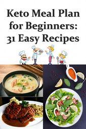31 Easy Keto Recipes for Beginners   #keto #ketodiet #ketorecipes #lowcarb #Keto…